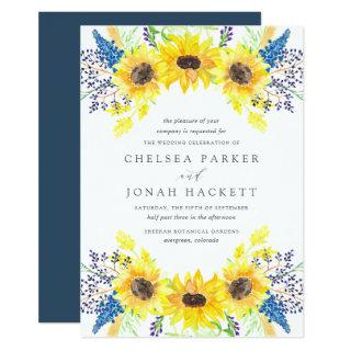 Flowerfields Wedding Invitations