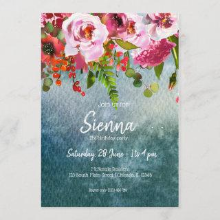 Flowers bouquet for all occasions Invitations