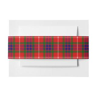 Fraser Scottish Tartan Belly Band