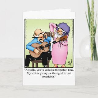 """Funny Anniversary Card """"Spectickles"""""""