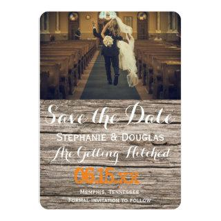 funny bride kidnapping/Save The Date Invitations