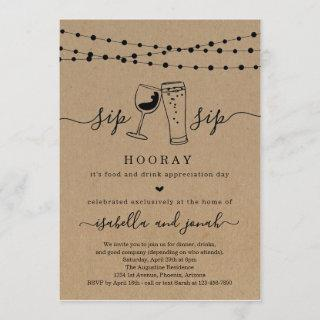 Funny Dinner Party Invitations