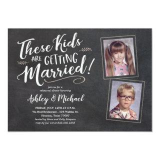 Funny Old Photos Rehearsal Dinner Invitations