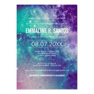 Galaxy Bridal Shower Invite