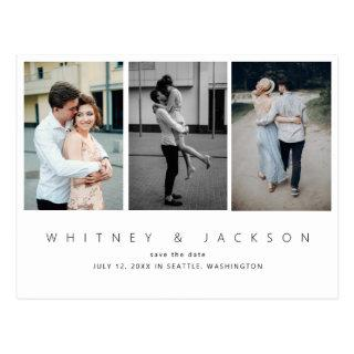 Gallery Multi Photo Save the Date Postcard