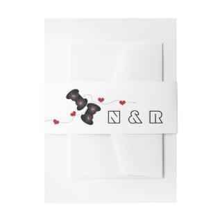 Geeky Gamers Wedding Belly Bands Dark  Belly Band