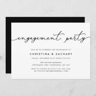 Gin Lane | Engagement Party Invitations