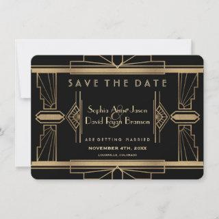 Glamorous Roaring 20's Great Save The Date