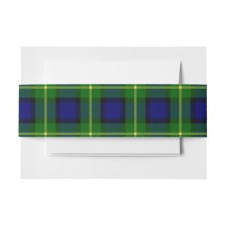 Gordon Scottish Tartan Belly Band