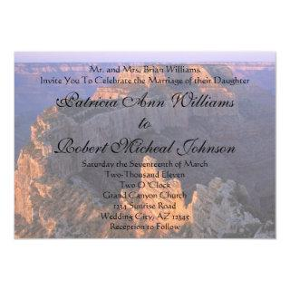 Grand Canyon Wedding Invitations Announcement
