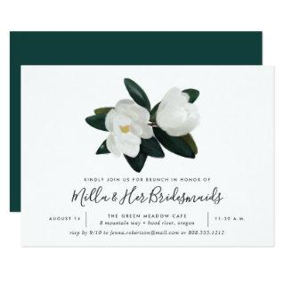 Grandiflora Bridesmaids Brunch Invitations