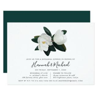 Grandiflora Rehearsal Dinner Invitations