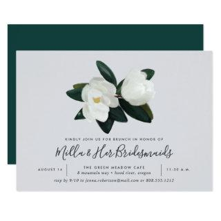 Grandiflora | Southern Magnolia Bridesmaids Brunch Invitation