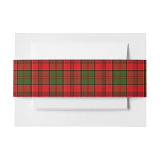 Grant Scottish Tartan Belly Band