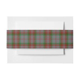 Gray Scottish Tartan Belly Band
