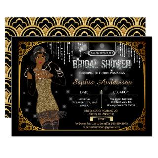Great Gatsby bridal shower Invitations African