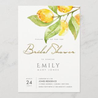 GREEN WATERCOLOUR FOLIAGE OLIVE BRIDAL SHOWER