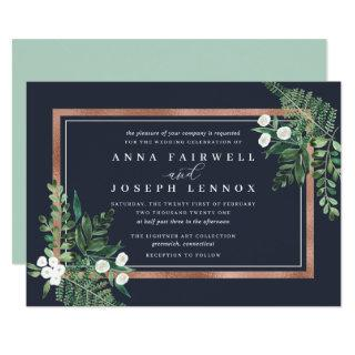 Greenhouse | Watercolor Botanical Wedding Invitations