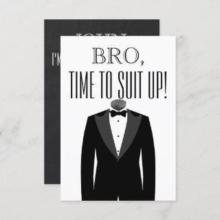 Groomsman or Best Man Proposal Invitations