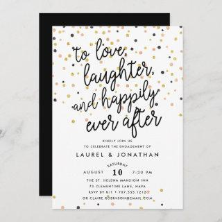 Happily Ever After | Engagement Party Invitations