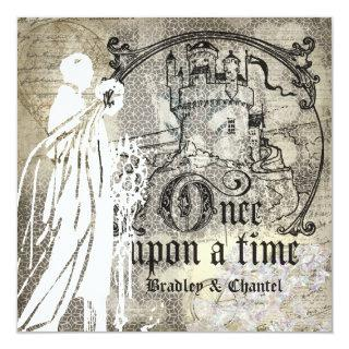 Happily Ever After Once Upon a Time Invitation