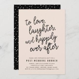 Happily Ever After Post Wedding Brunch