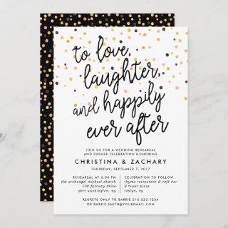 Happily Ever After | Rehearsal Dinner Invitations