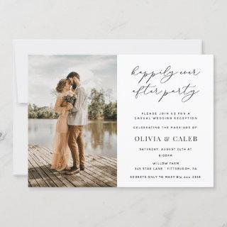 Happily Ever After Wedding Reception Invitations