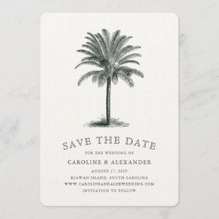 Havana Palm Save the Date