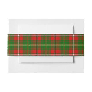 Hay Scottish Tartan Belly Band
