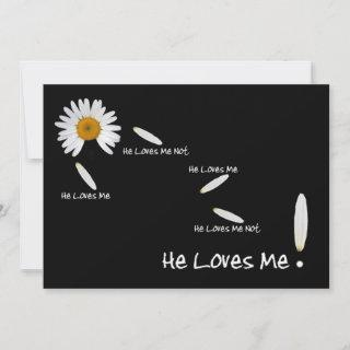 He Loves Me Wedding Save The Date