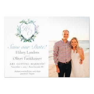 Hilary and Oliver Save the Date Invitation