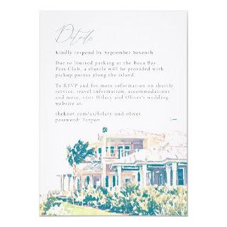Hilary and Oliver's Weekend Details Final Invitations