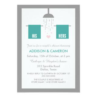 His and Hers | Couple's Shower Invitations