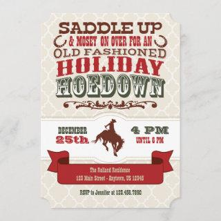 Holiday Hoedown Christmas Party