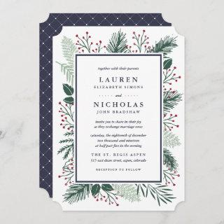 Holly and Pine Wedding