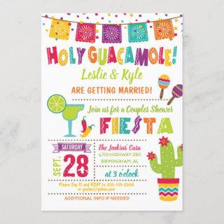 Holy Guacamole Couples Shower Fiesta Invitations W