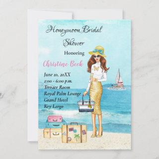 Honeymoon Bridal Shower Save The Date