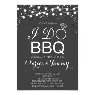 I Do BBQ Invitations / BBQ Engagement Party
