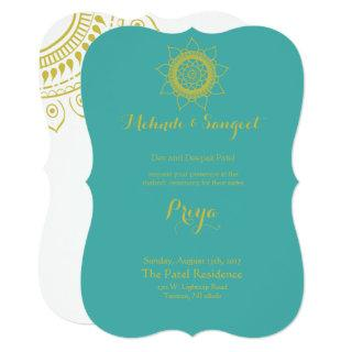 Indian Bollywood Wedding Invitations w/ Om