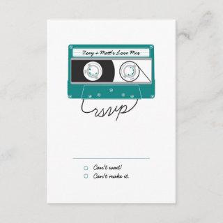 Indie Mixtapes (Teal / Silver) RSVP