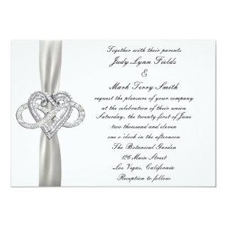 Infinity Heart Wedding Invitation