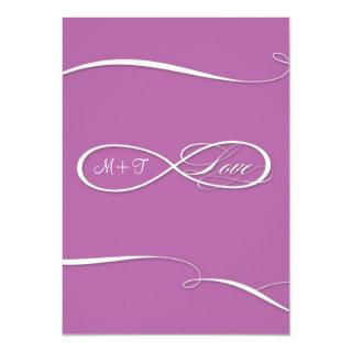 Infinity Symbol Sign Infinite Love Weddings Scroll Invitations