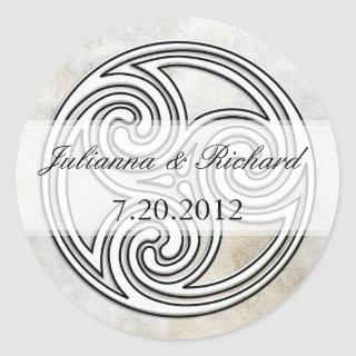 Irish Celtic Knot Invitations Seals