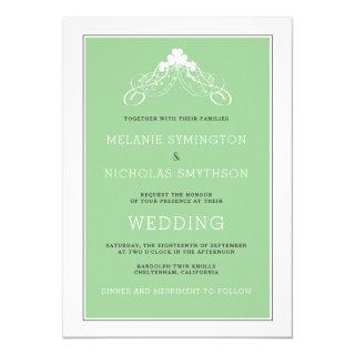 Irish Wedding Arch Invitations 3991