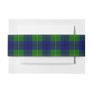 Johnston Scottish Tartan Belly Band
