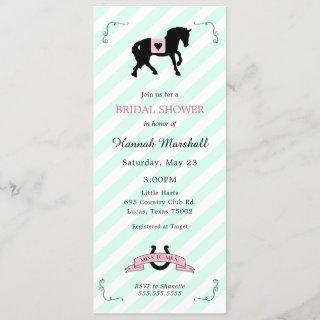 Kentucky Derby Bridal Shower Invitations