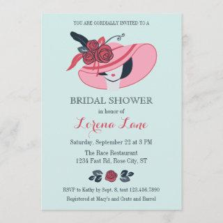 Kentucky Derby Inspired Bridal Shower Invitations