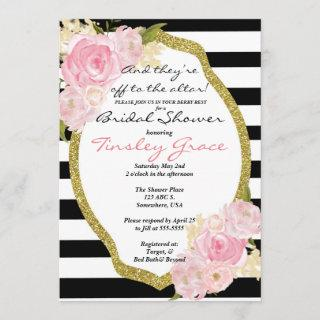 Kentucky Derby theme shower Invitations