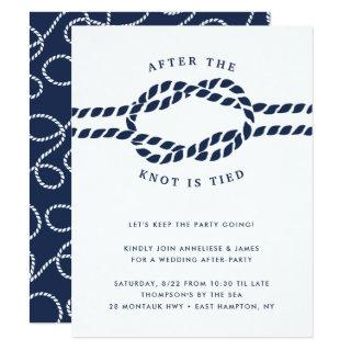 Knotted | Wedding After Party Invitation